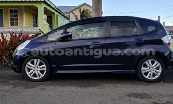 Buy Used Honda FIT Blue Car in St John's in Antigua