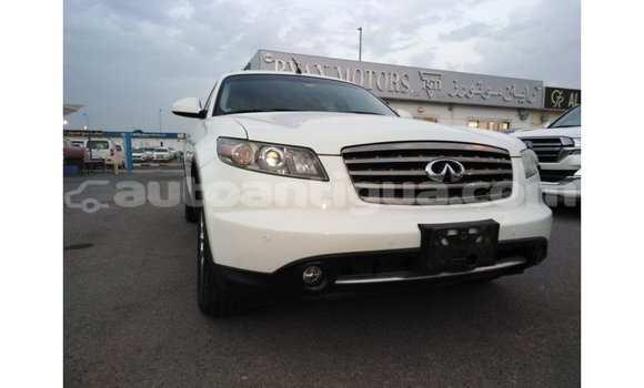 Buy Import Infiniti FX White Car in Import - Dubai in Antigua