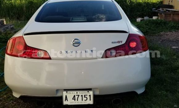 Buy Used Nissan Skyline White Car in St John's in Antigua